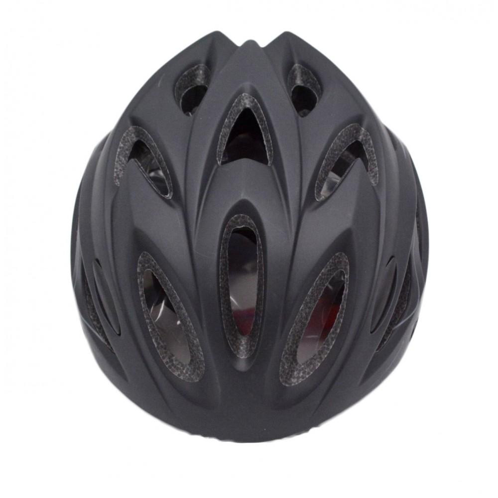 Κράνος Ποδηλάτου Road σε Μαύρο Γκρι Χρώμα