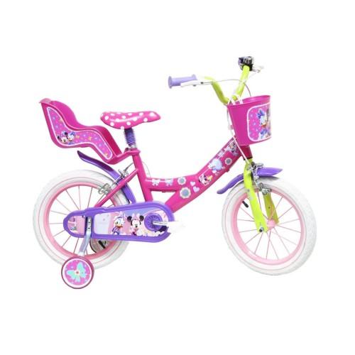 Ποδήλατο Disney Minnie 12 ίντσες σε Φούξια