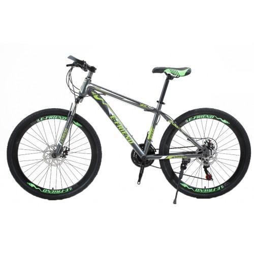 Ποδήλατο Mountain High -Grade 26 ίντσες σε Γκρι - Κίτρινο