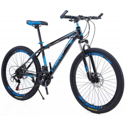 Ποδήλατο Mountain High -Grade 26 ίντσες σε Μαύρο-Μπλε