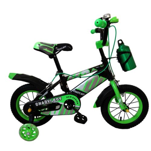 Παιδικό Ποδήλατο Τύπου BMX 12 ίντσες σε Πράσινο χρώμα