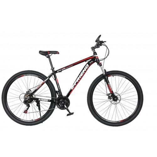 Ποδήλατο Βουνού Αλουμινίου E-FRIEND 27.5 ίντσες σε Μαύρο κόκκινο