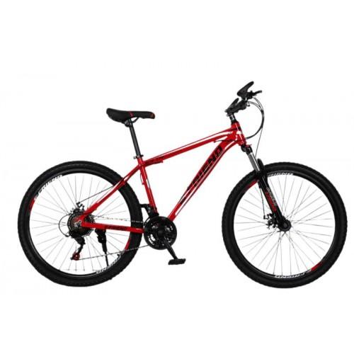 Ποδήλατο Βουνού Αλουμινίου E-FRIEND 27.5 ίντσες σε Κόκκινο