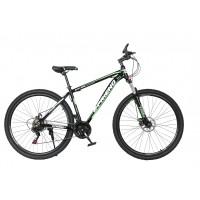 Ποδήλατο Βουνού Αλουμινίου E-FRIEND 29 ίντσες σε Μαύρο - Πράσινο