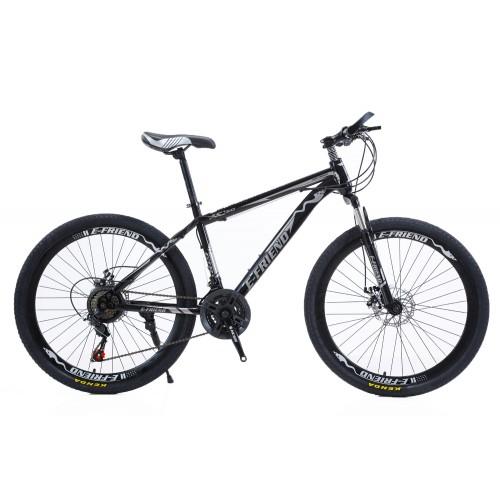 Ποδήλατο Mountain High -Grade 26 ίντσες σε Μαύρο-Γκρι