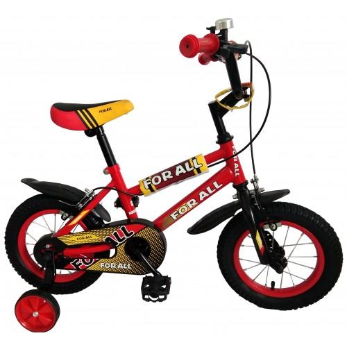 Παιδικό ποδήλατο 12 ίντσες BMX σε Κόκκινο