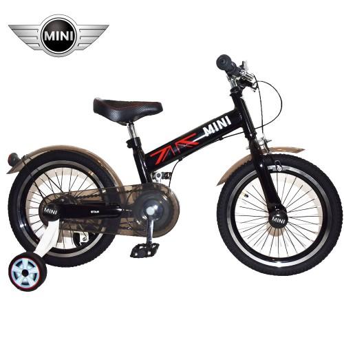 Παιδικό Ποδήλατο MINI Cooper Licensed 16 ίντσες σε Μαύρο