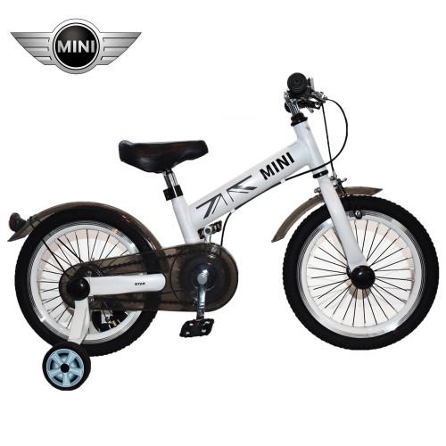 Παιδικό Ποδήλατο MINI Cooper Licensed 16 ίντσες σε Λευκό