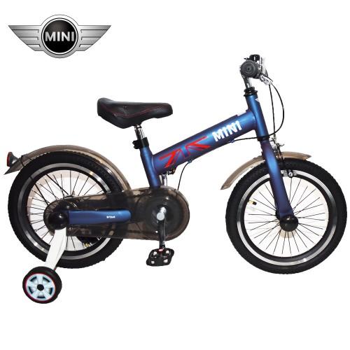 Παιδικό Ποδήλατο MINI Cooper Licensed 16 ίντσες σε Πετρολ - Γκρι