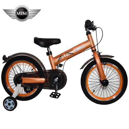 Παιδικό Ποδήλατο MINI Cooper Licensed 16 ίντσες σε Πορτοκαλί
