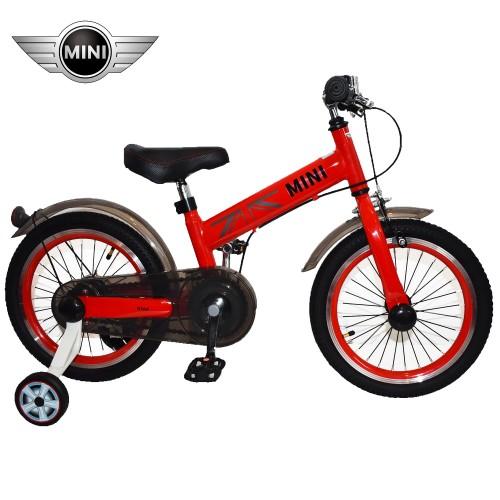 Παιδικό Ποδήλατο MINI Cooper Licensed 16 ίντσες σε Κόκκινο