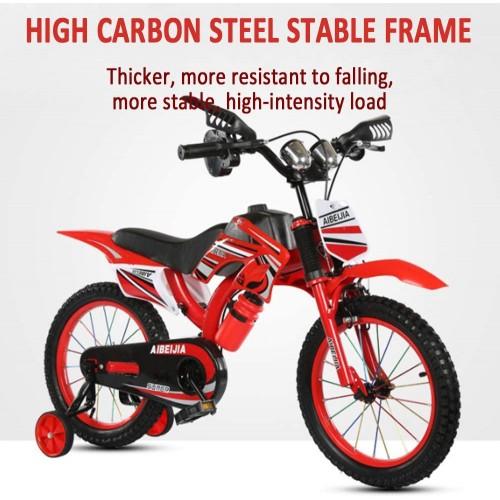 Ποδήλατο Μοτοσικλέτα Dragon Mart 12 ίντσες σε Κόκκινο