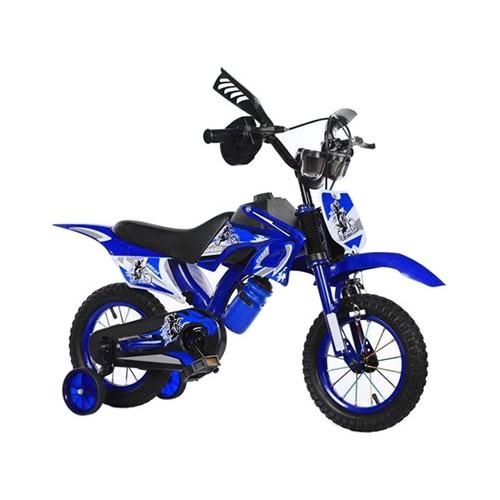 Ποδήλατο Μοτοσικλέτα Dragon Mart 12 ίντσες σε Μπλε