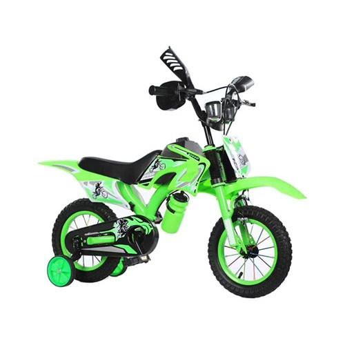 Ποδήλατο Μοτοσικλέτα Dragon Mart 12 ίντσες σε Πράσινο