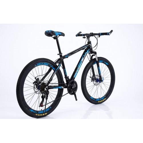 Ποδήλατο Mountain Αλουμινίου Gold Bike XC310 με SHIMANO ταχύτητες 26 ίντσες σε Μαύρο Μπλε