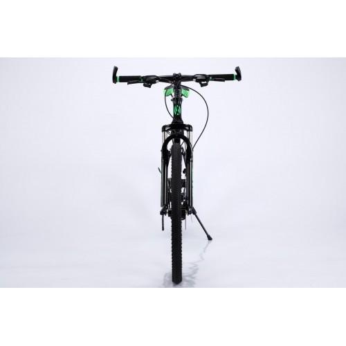 Ποδήλατο Σπαστό Mountain Αλουμινίου Gold Bike New με SHIMANO ταχύτητες 26 ίντσες σε Μαύρο Πράσινο